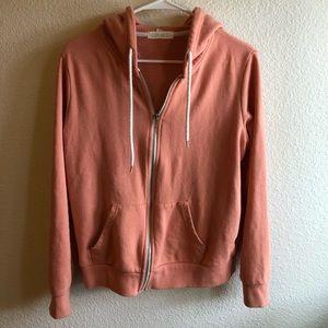 Forever 21 peach hoodie